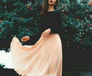 fashion, romantic, and skirt image