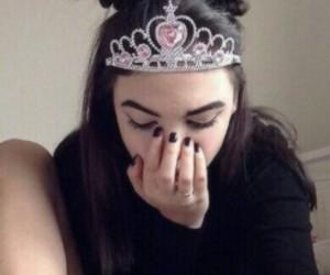 girl, grunge, and princess image