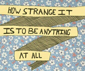 strange, quotes, and anything image