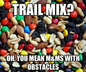 m&m's, mix, and trail image