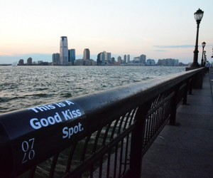 kiss, love, and city image