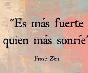 smile, frases, and strong image