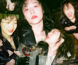 beautiful, sulli, and Collage image