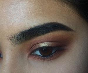 makeup, beautiful, and eyes image