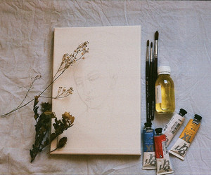 art, flowers, and soft image