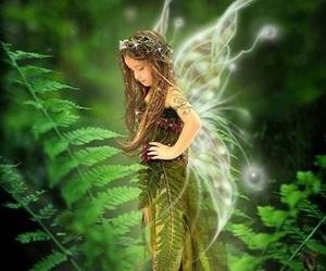 fairy, little girl, and girl image