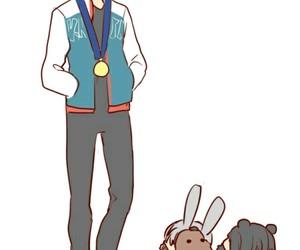 boy, kawaii, and chibi anime image