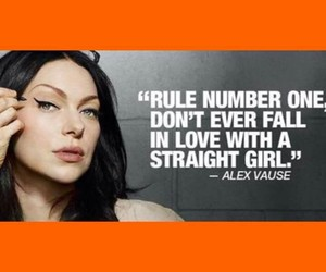 straight girl, orange is the new black, and love image