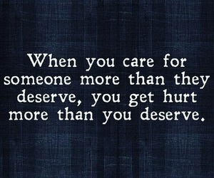 quote, hurt, and care image
