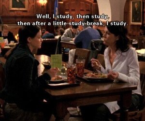 gilmore girls and study image