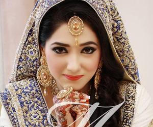 bride, shaadi, and henna image