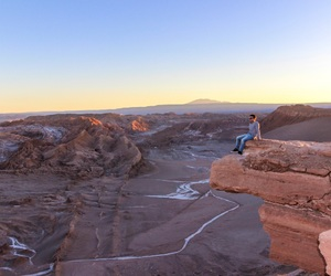 atacama, chile, and cliff image