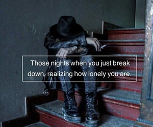 quotes, lonely, and grunge image