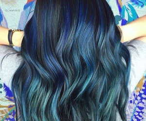 color and hair image