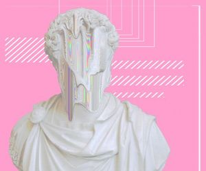 pink, art, and tumblr image