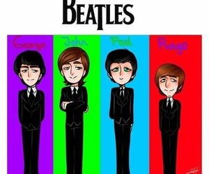 band, beatles, and george harrison image
