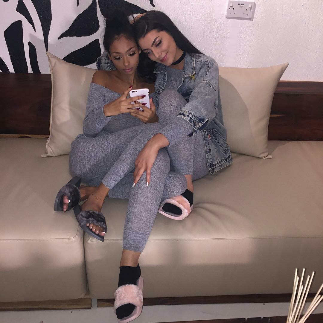 best friends, fashion, and friendship image
