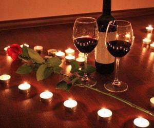 love, candle, and romantic image