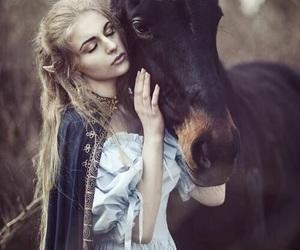horse, fantasy, and magic image