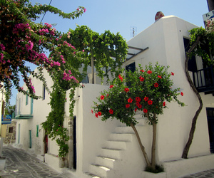 Greece, house, and summer image