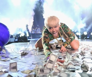 miley cyrus, weed, and money image