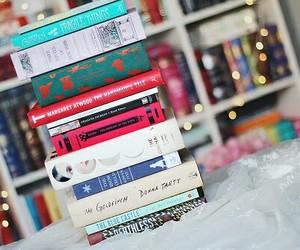 book, girl, and girly image