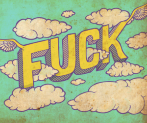 Flying, fuck, and illustration image