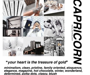 aesthetic and capricorn image
