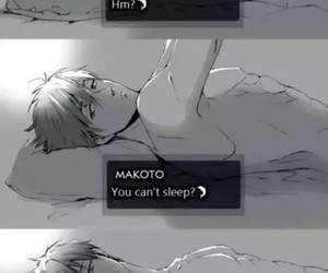 anime, makoto, and free! image