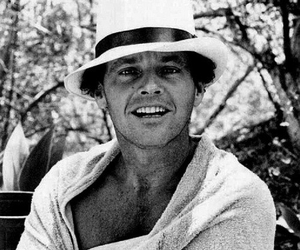 black and white and jack nicholson image