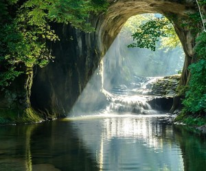 nature, travel, and cave image