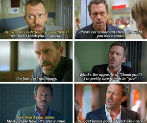 Dr. House, funny, and Gregory image