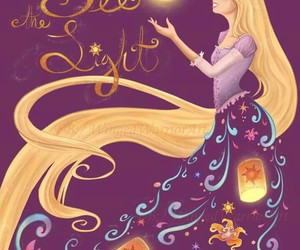 disney and rapunzel image