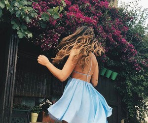 dress, girly, and hair image
