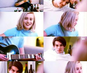 blond, skam, and teen image