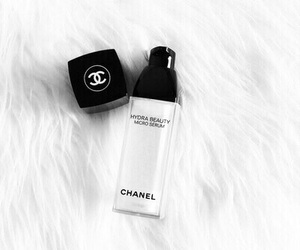 chanel, black, and make up image