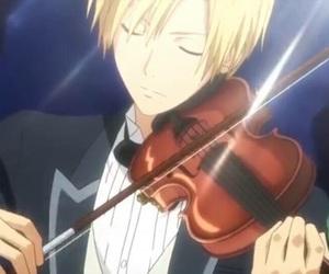 violin, anime, and usui takumi image