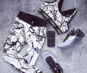 motivation, workout, and fashion image