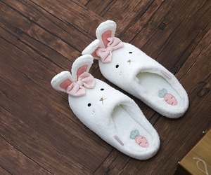 bow, rabbit, and shoes image