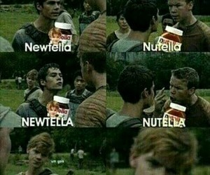 thomas, newt, and funny image