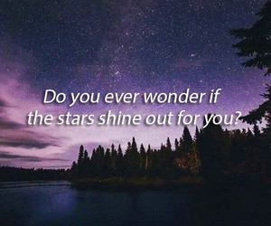 for you, night, and stars image