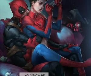 spideypool, Avengers, and deadpool image