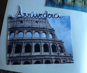 diary, italy, and rome image