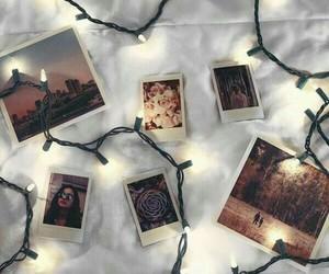 light, photography, and polaroid image