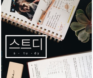 korean, motivation, and notes image