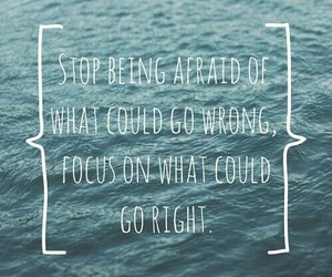 quote, life, and sea image