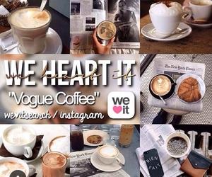 cofee, vogue coffee, and coffee image