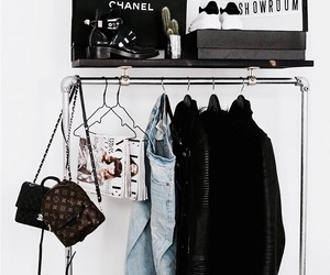 fashion, chanel, and closet image