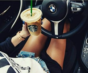 starbucks, adidas, and car image