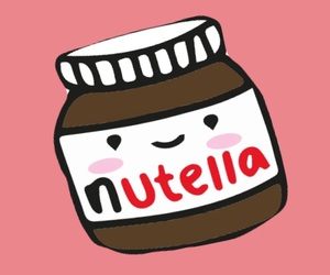 background, nutella, and love image